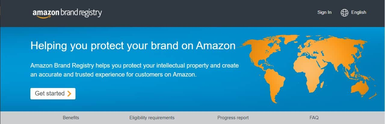 amazon brand registry requirements