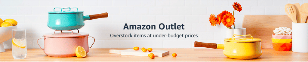 outlet by Amazon
